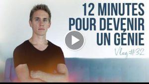 12 minutes pour devenir UN GNIE! – VLOG
